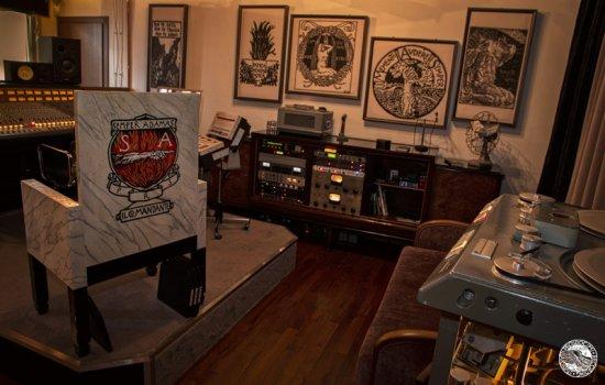 Residential Recording studio in villa