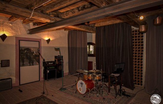 Residential Recording studio in villa