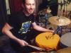 Ziga's drummer Luka